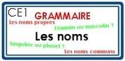 GR - Les noms | Classe de CE1 | Scoop.it