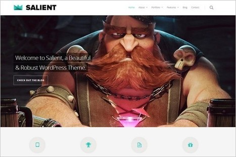 5 Top Selling and Unique WordPress Theme from ThemeForest | Free & Premium WordPress Themes | Scoop.it