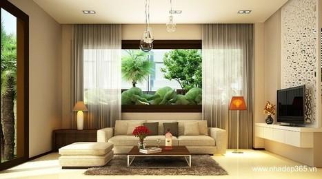 Thiết kế nội thất phòng khách | Thiết kế nhà đẹp 365 | Scoop.it