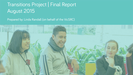 VicSRC - Victorian Student Representative Council :: Moving on up: VicSRC Transition Report | Student Voice Australia | Scoop.it