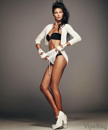 Adriana Lima stylish photoshoot for Harpers Bazaar España   VipsMag   Sexy Pics   Scoop.it