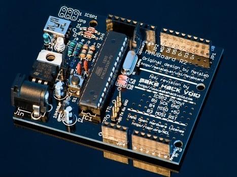 MHVBoard Arduino Clone, direct USB & proto area | Arduino Focus | Scoop.it