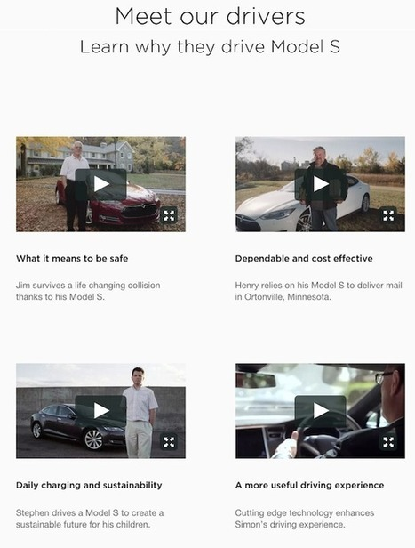 What can automotive brands learn from the Tesla website? | Competitive Edge | Scoop.it
