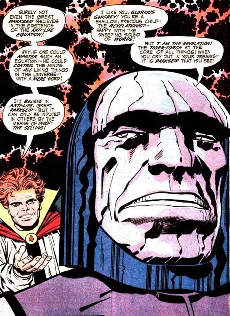 "When You Cry Out In Your Dreams, It Is Darkseid That You See | Jack ""King"" Kirby 