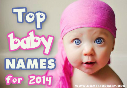 Top baby names 2014 – The Most Popular Names of the year revealed | The Name Meaning & Baby World | Scoop.it