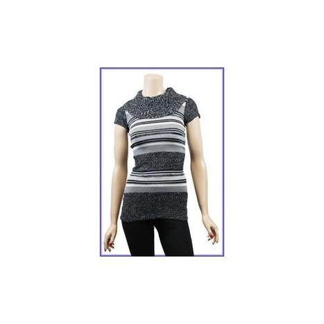 EX EWM grey striped knitted tunic dress on sale - Lingerie Shop   Lingerie   Scoop.it