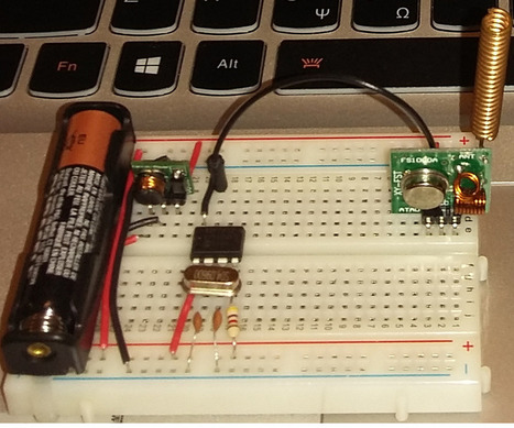 Wireless communication using cheap 433MHz RF modules and Pic microcontrollers. Part 1 | Arduino, Netduino, Rasperry Pi! | Scoop.it