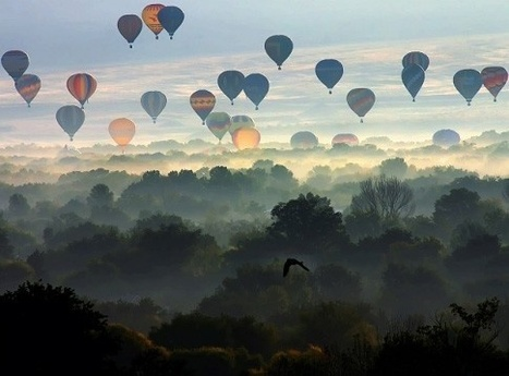 Hot air balloons... | I didn't know it was impossible.. and I did it :-) - No sabia que era imposible.. y lo hice :-) | Scoop.it