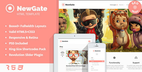 NewGate – Agency/Business HTML5 Template (Creative) | Best HTML Themes | Scoop.it