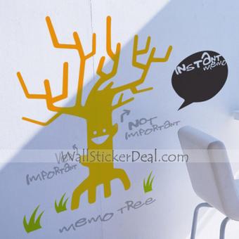 Memo Tree Wall Sticker – WallStickerDeal.com   Tree Wall Stickers   Scoop.it