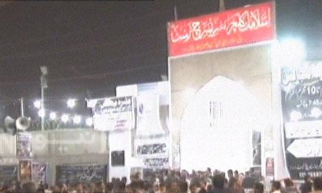 Grenade attack at Karachi Imambargah kills child, injures seven | parachinarvoice | Scoop.it