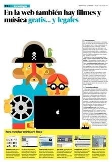 En la web también hay filmes y música gratis... y legales - Latercera | My Favorite Topics | Scoop.it
