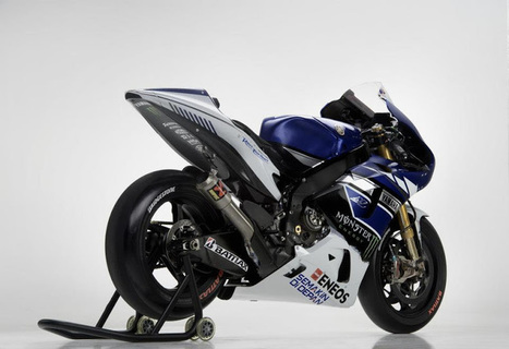 2013 Yamaha YZR-M1 Images ~ Grease n Gasoline | MARKER RACING  ARGENTINA SPEED | Scoop.it