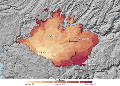 The Color of Fire: How Palette Choice Impacts Maps of Yosemite's Rim Fire - Wired | Maps | Scoop.it