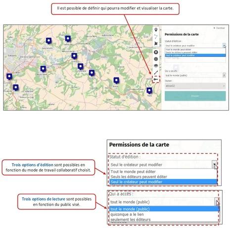 uMap - Guide de prise en main complet | CIST - sciences du territoire | Scoop.it