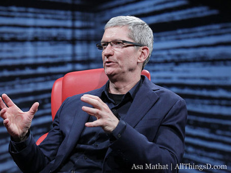 Tim Cook On Facebook, The iPad, And Just About Everything Else | cross pond high tech | Scoop.it