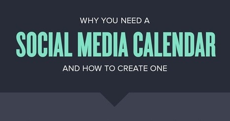 Why You Need a Social Media Calendar and How to Create One | Social Media Marketing Strategies | Scoop.it