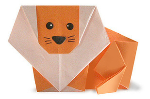 Origami Maniacs: Origami Lion | Creative Paper & Ephemera Art | Scoop.it