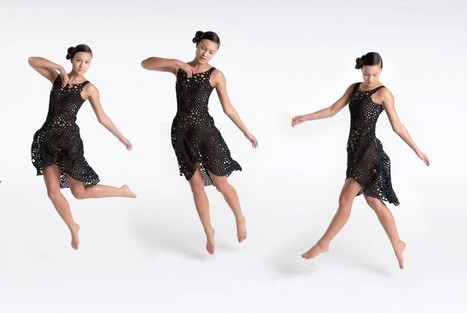 Thousands of Interlocking Components Compose 3D-Printed Dresses | shubush digital | Scoop.it