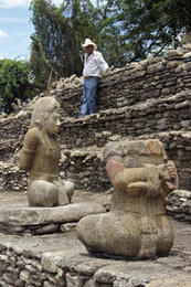 Mexico finds 2 sculptures of Mayan warriors | Deseret News | Archaeology News | Scoop.it