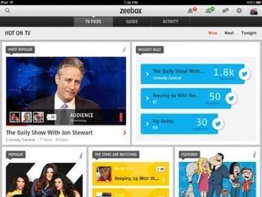 Zeebox / second écran : objectif, sauver la télé ! | Secteur des médias & Technologies | Scoop.it