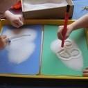 Writing in salt | Teach Preschool | Scoop.it