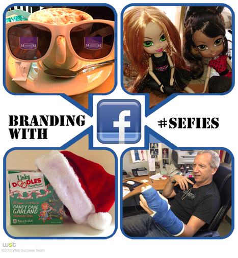 How Selfies Can Boost Your Brand This Holiday Season! | Social Media | Scoop.it