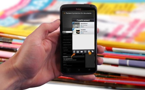 [Tutoriel] Comment scanner un document avec votre mobile | Enseigner avec Android | Scoop.it