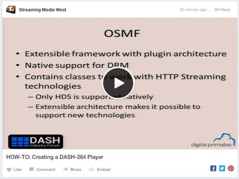 HOW-TO: Creating a DASH-264 Player by @mlabriola via @StrMediaShows | mvpx_Vid | Scoop.it