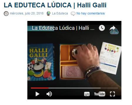 LA EDUTECA LÚDICA | Halli Galli ~ La Eduteca | FOTOTECA INFANTIL | Scoop.it