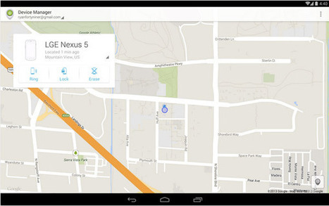 Google : l'application de repérage d'un appareil Android disponible | Android's World | Scoop.it