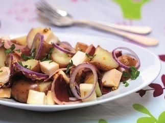 Salade de pommes de terre, Reblochon et magret de canard|La Radio du Goût | Recettes de cuisine savoyarde | Scoop.it