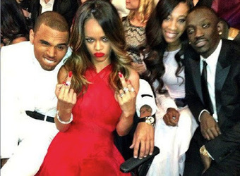 Rhymes with Snitch | Entertainment News | Celebrity Gossip: Chris and Rihanna at the Grammys | GetAtMe | Scoop.it