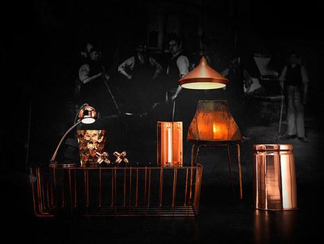 Interiors: the new metal - in pictures | L'Etablisienne, un atelier pour créer, fabriquer, rénover, personnaliser... | Scoop.it