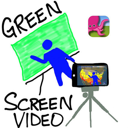 Green Screen Videos to Share with Teachers | iPads in High School | Scoop.it