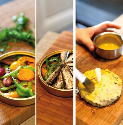Un concept original et quelques idées pour mettre en valeur une simple petite boîte de sardine ! | chrono nutrition | Scoop.it