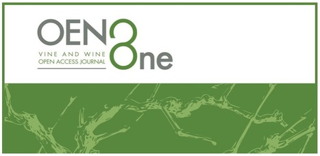 OENO One, media scientifique vigne et vin | Winemak-in | Scoop.it