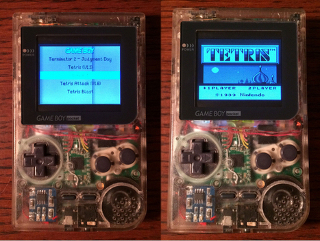 This DIY Game Boy Pocket Uses A Raspberry Pi To Bring You Absolute, Unending Joy | Raspberry Pi | Scoop.it