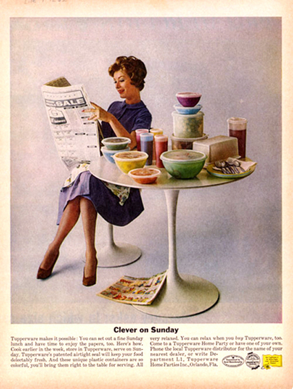 Art in the Everyday: Tupperware — An American Design Classic ... | Tupperware | Scoop.it