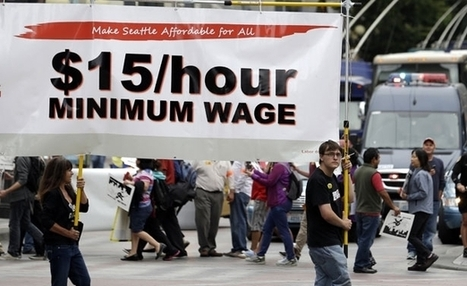 $15! A Great Big Wage Hike in Seattle, a Great Big Movement Nationally - The Nation. (blog) | Labor and Employee Relations | Scoop.it