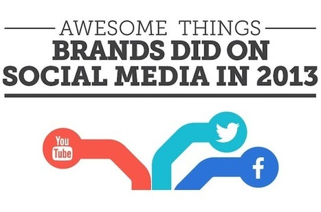 Awesome Things That Brands Did On Social Media In 2013 [INFOGRAPHIC] - AllTwitter | Socially | Scoop.it