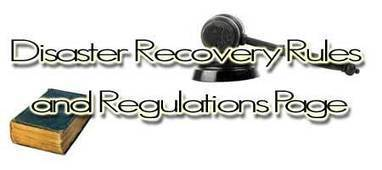 DR Rules and Regulations | Tools | Resources | Businesscontinuity | Scoop.it