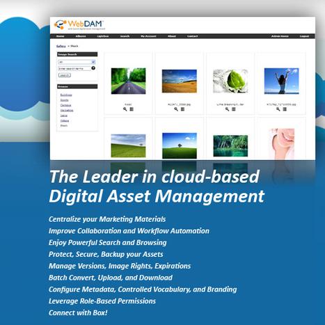 Digital Asset Management, Image Library & Digital Asset Management Software   WebDAM Solutions   Digital-Asset-Management   Scoop.it