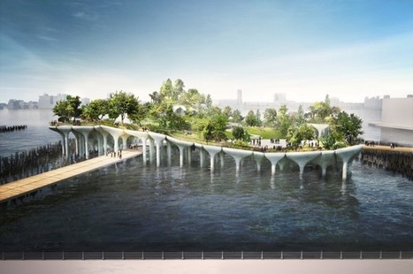 FLOATING Park in NYC by Heatherwick Studio Gets A Green Light | IMMOBILIER 2015 | Scoop.it