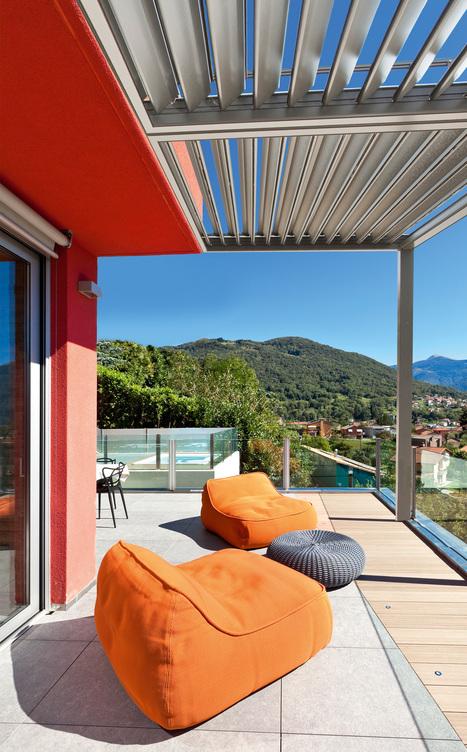 C- La Nouvelle pergola aluminium gamme LOUNGIA  de VIE & VERANDA | Décoration | Scoop.it