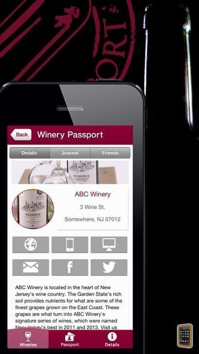 Winery Passport - A guide to local wines & wineries for iPhone - App Info & Stats | iOSnoops | Social Media e Vino | Scoop.it