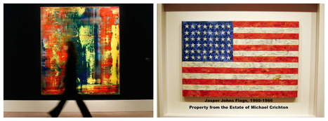 Did The Wrong Gerhard Richter Set The Right New Living Artist Record?   Jasper Johns   Scoop.it