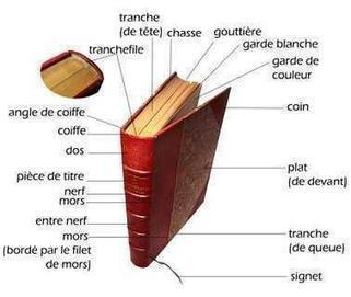 Angle de coiffe, tranche, coin... Anatomie du livre - Photos de Rachel Mbs-Book   Facebook   Edition en ligne & Diffusion   Scoop.it