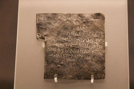 When Ancient Romans Had Their Clothes Stolen, They Responded With Curse Tablets | LVDVS CHIRONIS 3.0 | Scoop.it