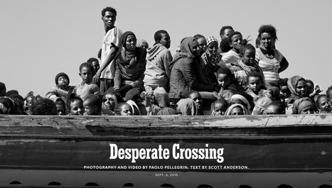 Desperate Crossing | Interactive & Immersive Journalism | Scoop.it